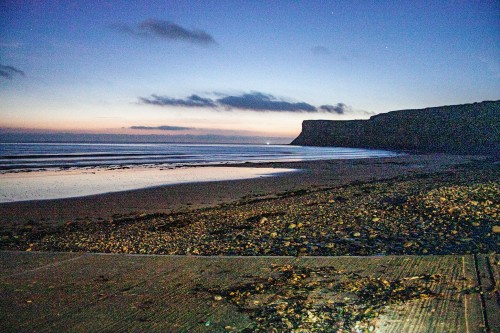 early mornign Saltburn